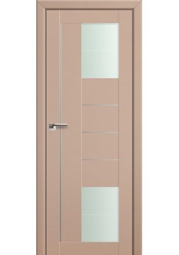 Двери Профиль Дорс 43U Капучино Сатинат Стекло Varga