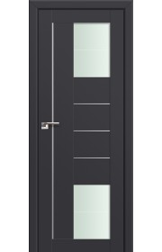Двери Профиль Дорс 43U Антрацит Стекло Varga