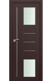 Двери Профиль Дорс 43U Темно-коричневый Стекло Varga