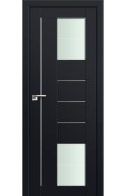 Двери Профиль Дорс 43U Черный матовый Стекло Varga