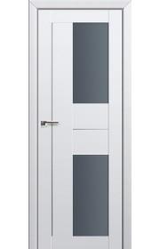 Двери Профиль Дорс 44U Аляска Стекло Графит