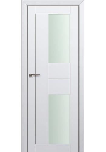 Двери Профиль Дорс 44U Аляска Стекло Мателюкс