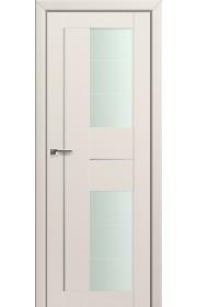Двери Профиль Дорс 44U Магнолия Сатинат Стекло Varga