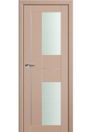 Двери Профиль Дорс 44U Капучино Сатинат Стекло Varga