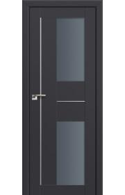Двери Профиль Дорс 44U Антрацит Стекло Графит
