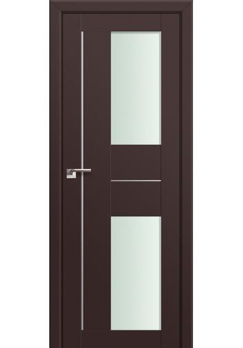 Двери Профиль Дорс 44U Темно-коричневый Стекло Мателюкс