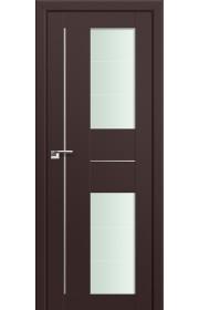 Двери Профиль Дорс 44U Темно-коричневый Стекло Varga