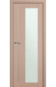 Двери Профиль Дорс 47U Капучино Сатинат Стекло Varga
