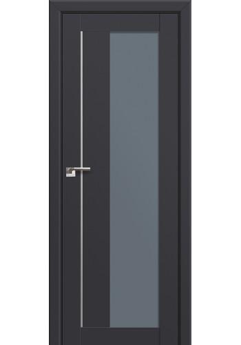 Двери Профиль Дорс 47U Антрацит Стекло Графит