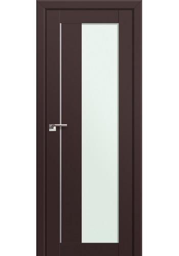 Двери Профиль Дорс 47U Темно-коричневый Стекло Мателюкс