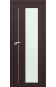 Двери Профиль Дорс 47U Темно-коричневый Стекло Varga