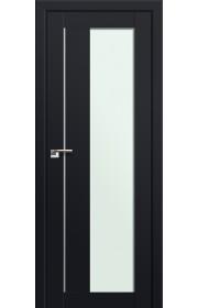 Двери Профиль Дорс 47U Черный матовый Стекло Мателюкс