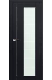 Двери Профиль Дорс 47U Черный матовый Стекло Varga