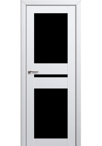 Двери Профиль Дорс 70U Аляска Стекло Черный Триплекс
