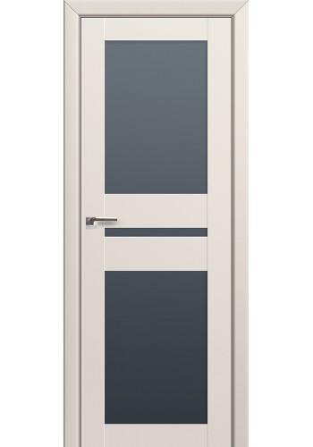 Двери Профиль Дорс 70U Магнолия Сатинат Стекло Графит