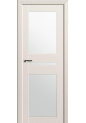Двери Профиль Дорс 70U Магнолия Сатинат Стекло Белый Триплекс