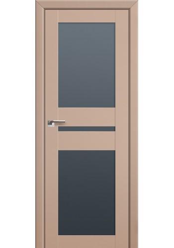 Двери Профиль Дорс 70U Капучино Сатинат Стекло Графит
