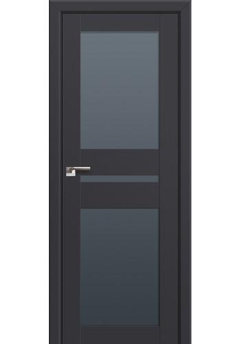 Двери Профиль Дорс 70U Антрацит Стекло Графит