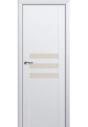 Двери Профиль Дорс 74U Аляска Стекло Перламутровый лак