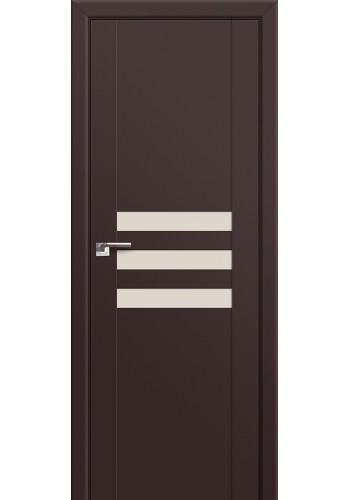 Двери Профиль Дорс 74U Темно-коричневый Стекло Коричневый лак