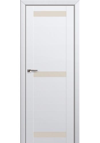 Двери Профиль Дорс 75U Аляска Стекло Перламутровый лак
