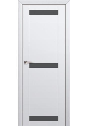 Двери Профиль Дорс 75U Аляска Стекло Серебряный лак