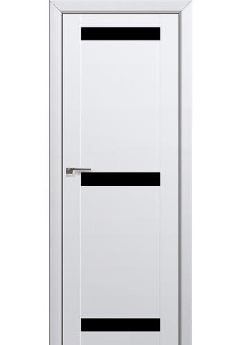 Двери Профиль Дорс 75U Аляска Стекло Черный лак