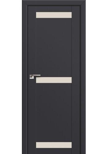 Двери Профиль Дорс 75U Антрацит Стекло Перламутровый лак