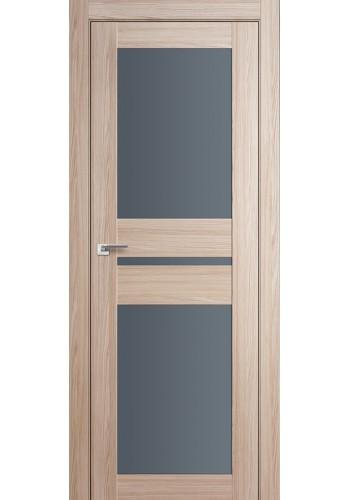 Дверь Профиль Дорс 70X Капучино Мелинга Стекло Графит