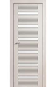 Дверь Профиль Дорс 57X Эш Вайт Мелинга Стекло Белый Триплекс