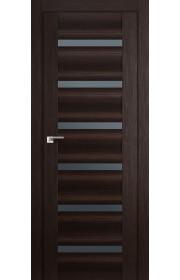 Дверь Профиль Дорс 57X Венге Мелинга Стекло Графит