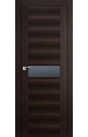 Дверь Профиль Дорс 59X Венге Мелинга Стекло Графит