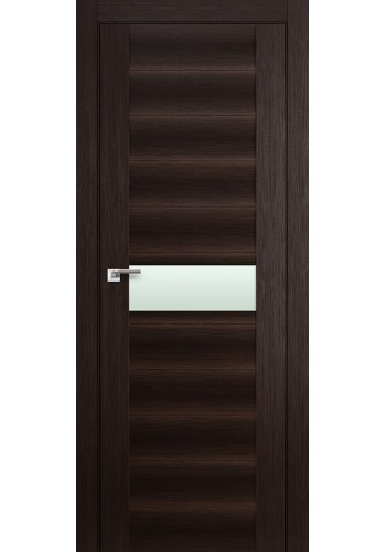 Дверь Профиль Дорс 59X Венге Мелинга Стекло Мателюкс
