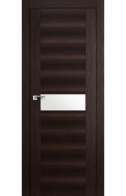 Дверь Профиль Дорс 59X Венге Мелинга Стекло Белый Триплекс