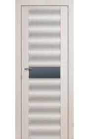 Дверь Профиль Дорс 59X Эш Вайт Мелинга Стекло Графит