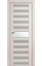 Дверь Профиль Дорс 59X Эш Вайт Мелинга Стекло Белый Триплекс
