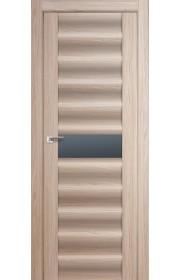 Дверь Профиль Дорс 59X Капучино Мелинга Стекло Графит