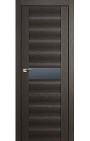 Дверь Профиль Дорс 59X Грей Мелинга Стекло Графит