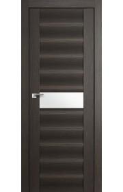 Дверь Профиль Дорс 59X Грей Мелинга Стекло Белый Триплекс