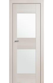 Дверь Профиль Дорс 51X Эш Вайт Мелинга Стекло Белый Триплекс
