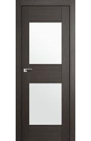 Дверь Профиль Дорс 51X Грей Мелинга Стекло Белый Триплекс