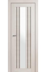 Дверь Профиль Дорс 53X Эш Вайт Мелинга Стекло Белый Триплекс
