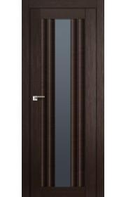 Дверь Профиль Дорс 53X Венге Мелинга Стекло Графит