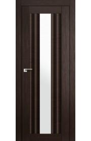Дверь Профиль Дорс 53X Венге Мелинга Стекло Белый Триплекс