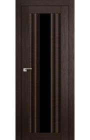 Дверь Профиль Дорс 53X Венге Мелинга Стекло Черный Триплекс
