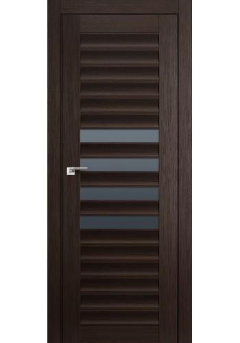Дверь Профиль Дорс 55X Венге Мелинга Стекло Графит