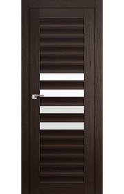 Дверь Профиль Дорс 55X Венге Мелинга Стекло Белый Триплекс