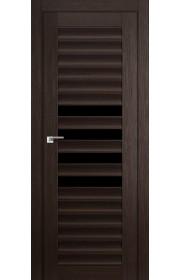 Дверь Профиль Дорс 55X Венге Мелинга Стекло Черный Триплекс
