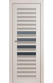 Дверь Профиль Дорс 55X Эш Вайт Мелинга Стекло Графит