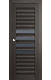 Дверь Профиль Дорс 55X Грей Мелинга Стекло Графит